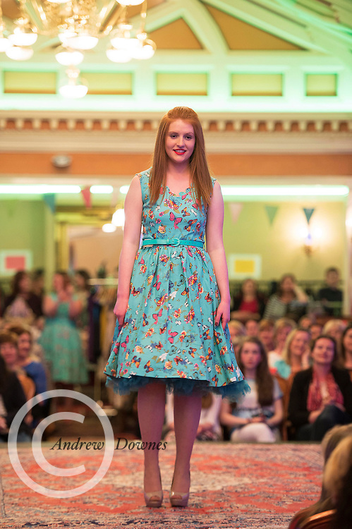 Seamount College fashion evening at the Lady Gregory in Gort Co. Galway Photo:Andrew Downes