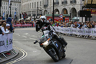 TV crew during the London Stage of the Aviva Tour of Britain, Regent Street, London, United Kingdom on 13 September 2015. Photo by Ellie Hoad.