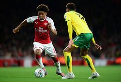 Reiss Nelson of Arsenal - Mandatory by-line: Alex James/JMP - 24/10/2017 - FOOTBALL - Emirates Stadium - London, England - Arsenal v Norwich City - Carabao Cup