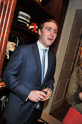 JACK MANN son of ex-SAS officer Simon Mann at a party hosted by TLC to celebrate signing their 5000th member and Ralph Lauren to celebrate the opening of the first Ralph Lauren Rugby store in the UK at 43 King Street, Covent Garden, London on 30th November 2011.