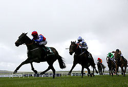 File photo dated 22-05-2021 of Gustavus Weston ridden by Gary Carroll (left) on their way to winning the Weatherbys Ireland Greenlands Stakes during day one of the Tattersalls Irish Guineas Festival at Curragh racecourse. Joseph Murphy reports Gustavus Weston to be in fine shape ahead of the Qipco British Champions Sprint Stakes at Ascot on Saturday. Issue date: Wednesday October 13, 2021.