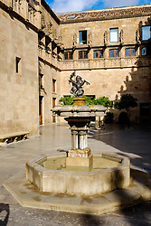 The Palau de la Generalitat houses the offices of the Presidency of the Generalitat de Catalunya in Barcelona.<br /> <br /> (c) Andrew Wilson   Edinburgh Elite media