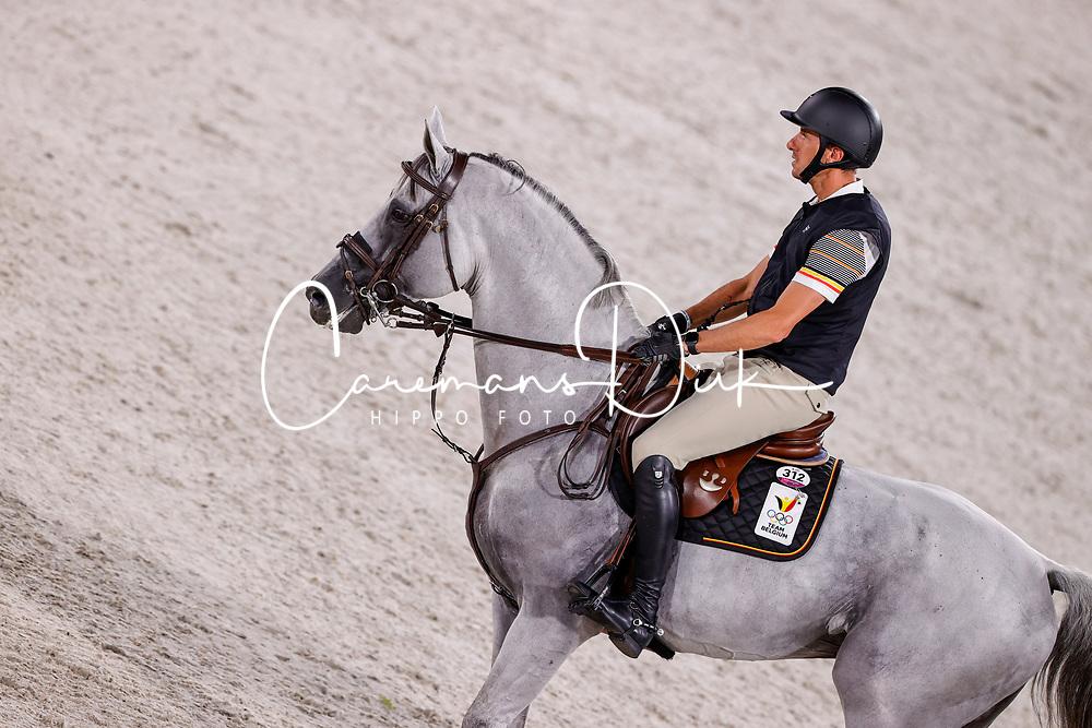Wathelet Gregory, BEL, Nevado S, 312<br /> Olympic Games Tokyo 2021<br /> © Hippo Foto - Dirk Caremans<br /> 01/08/2021