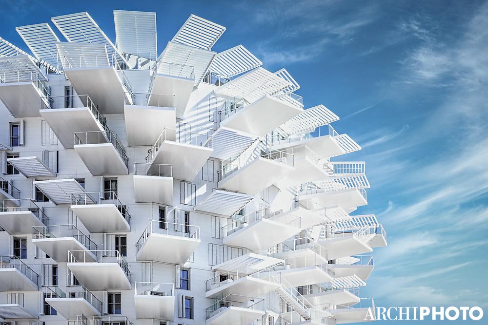 Sou Fujimoto Architects + Nicolas Laisné + OXO Architects + Dimitri Roussel  • L'Arbre Blanc, Montpellier