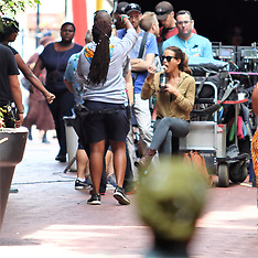 Kate Beckinsale seen shooting in Cape Town - 16 Feb 2018