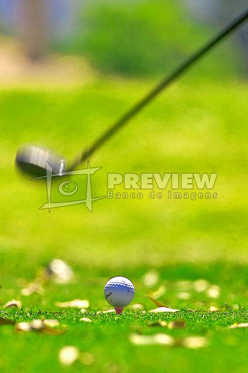 Lance de jogo do XIII Aberto do BeleÃÅm Novo Golf Club.  FOTO: Jefferson Bernardes/Preview.com