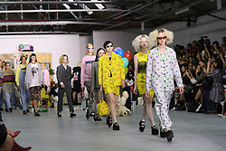 September 16, 2016 - London, United Kingdom - Image ©Licensed to i-Images Picture Agency. 16/09/2016. London, United Kingdom.  Ashley Williams show at London Fashion Week Spring/summer 2017. Picture by Stephen Lock / i-Images (Credit Image: © Stephen Lock/i-Images via ZUMA Wire)