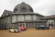 Buxton Pavilion vintage classic cars, Derbyshire, England