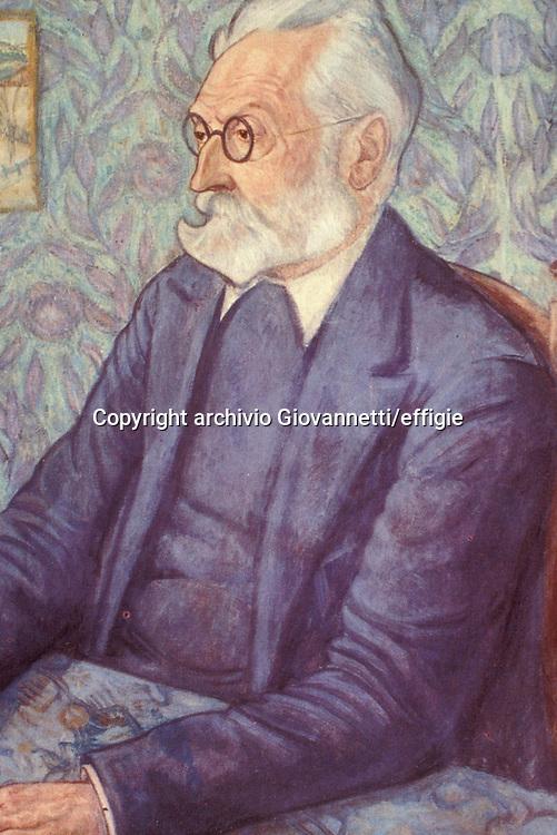 Miguel de Unamuno <br />archivio Giovannetti/effigie