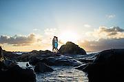 Honeymoon Portrait Session at Kapalua Bay, Maui