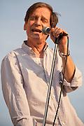 Alex Chilton with the Box-Tops at Deerpath Park, Readington Township, NJ 8/6/2009.