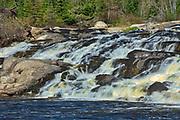Wenosaga Rapids on the Wenosaga River<br />Near Ear Falls<br />Ontario<br />Canada
