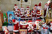 Christmas Decorations in Nazareth, Israel