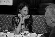 CAROLINE SIEBER, Graydon and Anna Carter host a lunch for Carolina Herrera to celebrate the ipening of her new shop on Mount St. .The Connaught. London. 20 January 2010