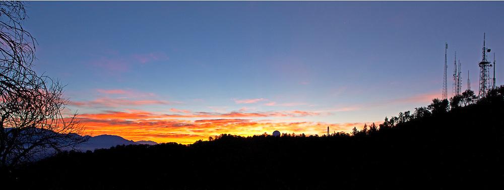 Dawn at Mt. Wilson, California