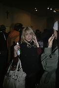 Cristina Restrepo, TWO LEGS BAD, FOUR LEGS GOOD, Jake & Dinos Chapman. PARADISE ROW, 17 Hereford Street. London E2 . 9 February 2007.  -DO NOT ARCHIVE-© Copyright Photograph by Dafydd Jones. 248 Clapham Rd. London SW9 0PZ. Tel 0207 820 0771. www.dafjones.com.