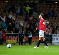 Fotball<br /> EM 2009 kvinner<br /> Semifinale<br /> Tyskland v Norge<br /> Foto: Jussi Eskola/Digitalsport<br /> NORWAY ONLY<br /> <br /> Ingvild Stensland