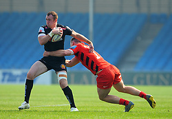 Max Bodilly of Exeter Braves in action- Mandatory by-line: Nizaam Jones/JMP - 22/04/2019 - RUGBY - Sandy Park Stadium - Exeter, England - Exeter Braves v Saracens Storm - Premiership Rugby Shield