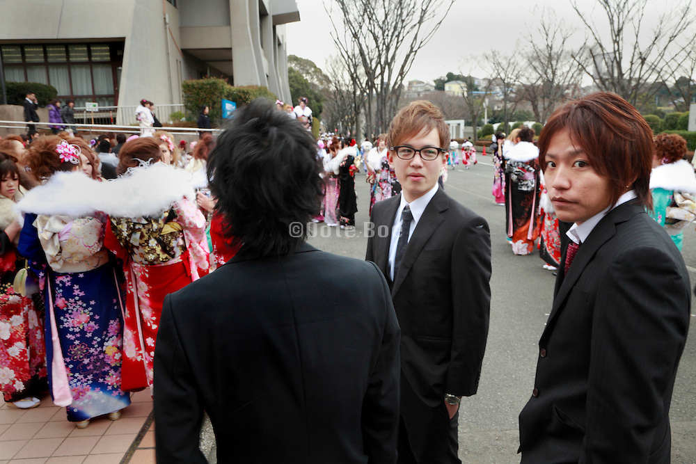 the day of the Coming of Age festival, Seijin no hi, Japan