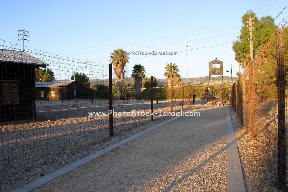 The Atlit detainee camp was a detention camp established by the authorities of the British Mandate for Palestine at the end of the 1930s on the Israeli coastal plain. The camp was established to prevent Jewish refugees from entering Mandatory Palestine. Tens of thousands of Jewish refugees were interned at the camp, which was surrounded by barbed wire and watchtowers. The Atlit camp is now a museum of the history of Ha'apala.