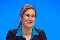 17 JAN 2009, BERLIN/GERMANY:<br /> Dr. Silvana Koch-Mehrin, MdEP, Vorsitzende der FDP im Europaparlament, Europaparteitag der FDP, Estrel Convention Center<br /> IMAGE: 20090117-01-023<br /> KEYWORDS: party congress