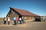 The High Desert EATS tour stops by Mecca Grade Estate Malt farm to learn about growing  estate grown barley and malt.