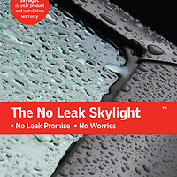 Velux skylight advertisement and brochure covers