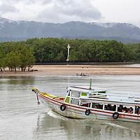 Harbour in Koh Phayam.