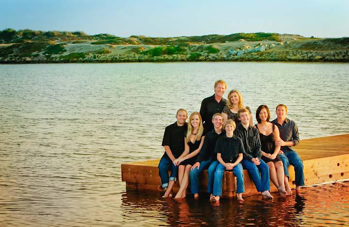 The Walker Family Photo @ Pierpont Beach, Ventura California 2008