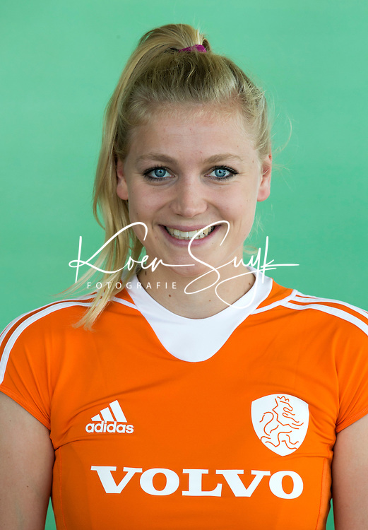 AMSTELVEEN - Lisanne de Lange Selectie Jong Oranje meisjes -21 . COPYRIGHT KOEN SUYK