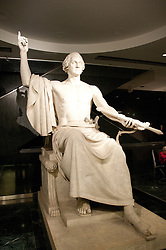 Smithsonian Museum of American History, Sculpture of Washington, Washington, DC, dc124458