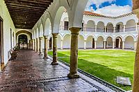 San augustin cloister in La Candelaria aera Bogota capital city of Colombia South America