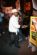 Plies greets street team outside at The Vibe Magazine VIP Celebration for Vibe's December cover featuring the first New York show of Plies, held at The Knitting Factory on November 24, 2008 in NYC