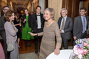 Photography ©Mara Lavitt<br /> May 12, 2018<br /> The Union League Cafe, New Haven<br /> <br /> Retirement party for SOM professor Sharon Oster.