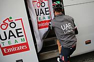 Fabio Aru (ITA - UAE Team Emirates) during the 101th Tour of Italy, Giro d'Italia 2018, stage 15, Tolmezzo - Sappada 178 km on May 20, 2018 in Italy - Photo Ilario Biondi / BettiniPhoto / ProSportsImages / DPPI
