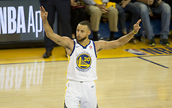 May 31, 2018 - Oakland, California, U.S - Stephen Curry #30 of the Golden State Warrior during  their  NBA Championship Game 1 with the s Cleveland  Cavaliers  at Oracle Arena in Oakland, California on Thursday,  May 31,  2018. (Credit Image: © Prensa Internacional via ZUMA Wire)