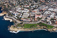 La Jolla Cove on the California Coastline
