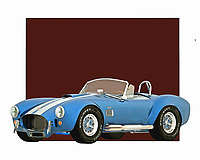 Celebrated for its unique design and formidable power, the Ford Cobra was a great vehicle for anyone who was ever serious about conquering the open road. The design is brilliantly recreated in this digital painting. You can add a piece such as this to virtually any space you can imagine. .<br /> <br /> BUY THIS PRINT AT<br /> <br /> FINE ART AMERICA<br /> ENGLISH<br /> https://janke.pixels.com/featured/1-ford-cobra-jan-keteleer.html<br /> <br /> <br /> WADM / OH MY PRINTS<br /> DUTCH / FRENCH / GERMAN<br /> https://www.werkaandemuur.nl/nl/shopwerk/Klassieke-auto---Oldtimer-Ford-Cobra-de-Amerikaanse-klassieke-sportwagen/435470/134