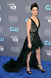 Jamie Alexander at The 23rd Annual Critics' Choice Awards held at the Barker Hangar on January 11, 2018 in Santa Monica, CA, USA (Photo by Sthanlee B. Mirador/Sipa USA)