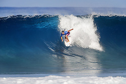 December 18, 2017 - Oahu, Hawaii, U.S. - Former Pipe Master Julian Wilson of Australia advances to the Quarterfinals of the 2017 Billabong Pipe Masters after winning Heat 2 of Round Five at Pipe, Hawaii, USA...Billabong Pipe Masters 2017, Hawaii, USA - 18 Dec 2017 (Credit Image: © WSL via ZUMA Wire/ZUMAPRESS.com)