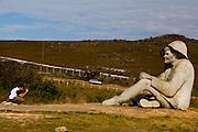 Conceicao do Mato Dentro_MG, Brasil.<br /> <br /> Estatua do Juquinha no Parque Nacional Serra do Cipo em Conceicao do Mato Dentro, Minas Gerais.<br /> <br /> The Juquinha statue at Serra do Cipo National Park in Conceicao do Mato Dentro, Minas Gerais.<br /> <br /> Foto: LEO DRUMOND / NITRO