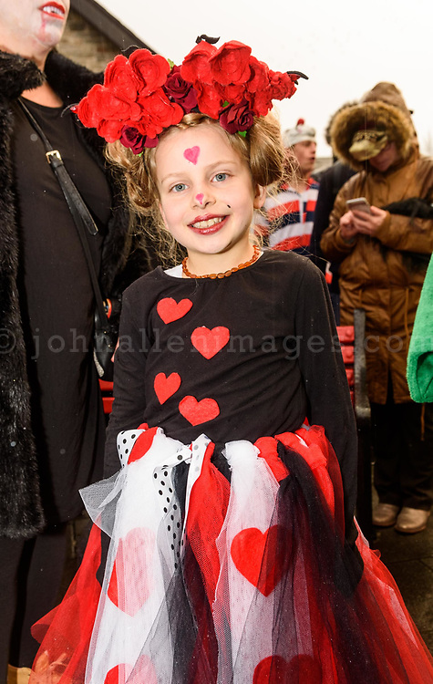 REPRO FREE<br /> Rumor Spatt from Ballinhassig pictured at this years Kinsale Halloween parade.<br /> Picture. John Allen