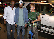 l to r: Jeff Friday( Founder, American BlackFilm Festival), Mos Def and Dolly Turner at Lincoln Presents ' Off the Red Carpet ' during the 2008 American Black Film Festival held at the Sofitel Hotel on August 8, 2008 in Los Angeles, Ca