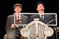 Matthew Macfadyen and Stephen Mangan at a  photocall  for  'Perfect Nonsense'  as Jeeves and Wooster  at the Duke Of York's Theatre on November 05, 2013 in London, England,, Photo by Vickie Flores