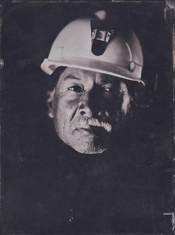 Antonio Curi, mining engineer. Curi had recently worked in mines in Zambia.