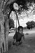 Near Vilankulos, Mozambique: Weight at birth is a good indicator, not only of a mother's health and nutritional status, but also the newborn's chances for survival, growth, long-term health and Psychosocial development.
