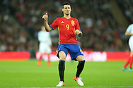 Aritz Aduriz of Spain looking on. England v Spain, Football international friendly at Wembley Stadium in London on Tuesday 15th November 2016.<br /> pic by John Patrick Fletcher, Andrew Orchard sports photography.