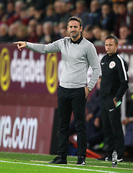 Leeds United manager Thomas Christiansen during the Carabao Cup, third round match at Turf Moor, Burnley.