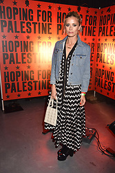 """Laura Bailey at """"Hoping For Palestine"""" Benefit Concert For Palestinian Refugee Children held at The Roundhouse, Chalk Farm Road, England. 04 June 2018."""