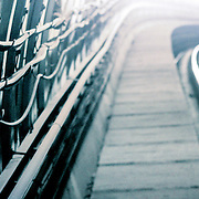 DLR tunnel wall, London, England (December 2004)